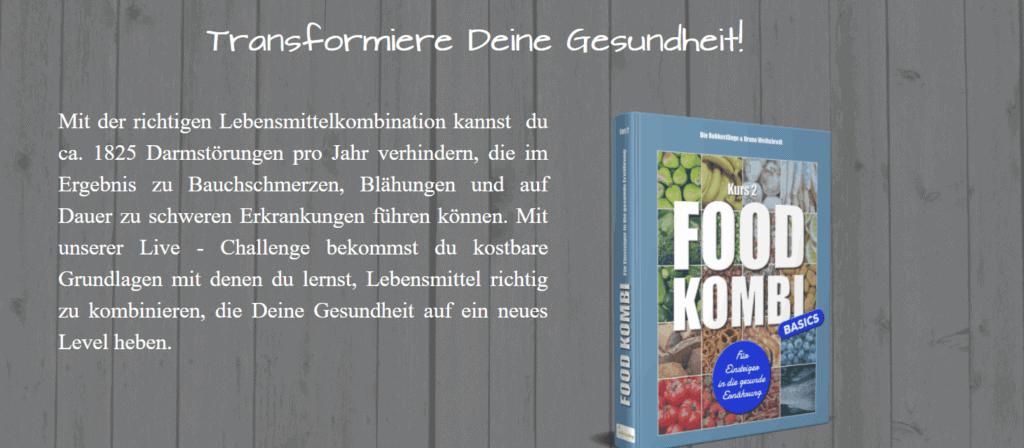 Lebensmittelkombination-Grundkurs-Aktion