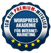 WordPress Akademie Siegel