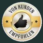 Logo vom Kunden empfohlen für den Footer
