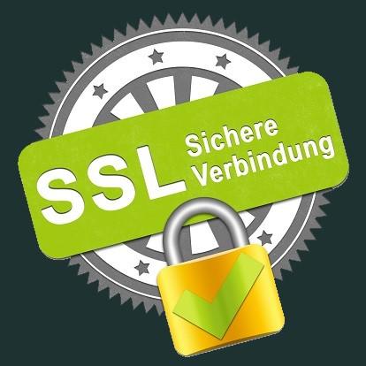 SSL Verschlüsselt für Footer