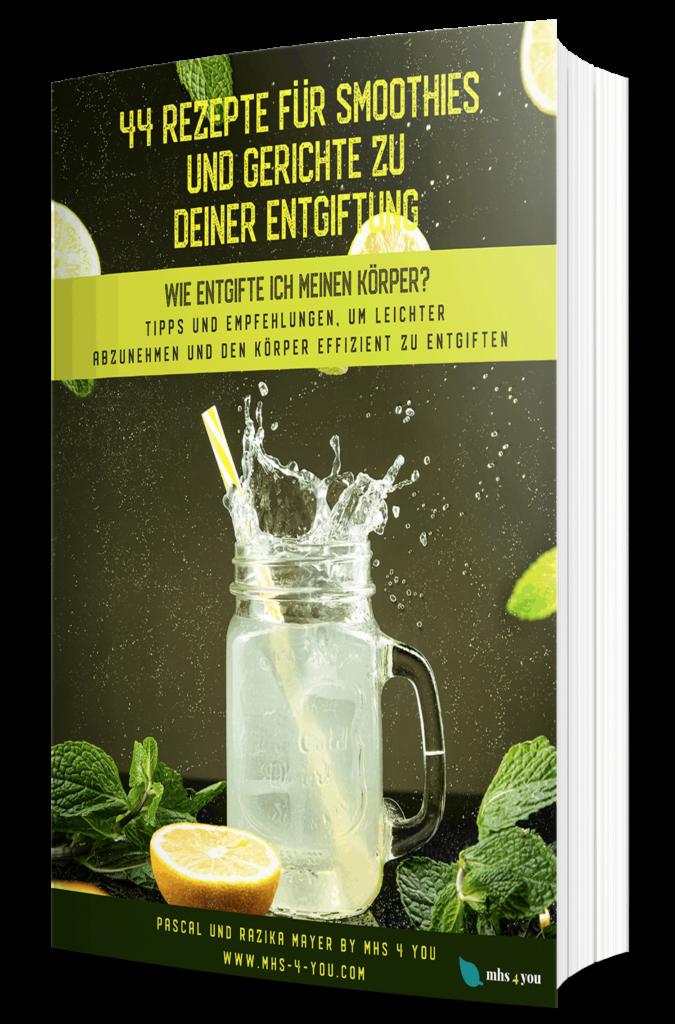 44 Rezepte für Smoothies und Gerichte - 3D