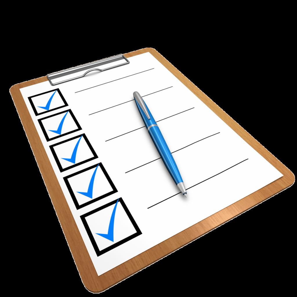 checkliste Entgiftung
