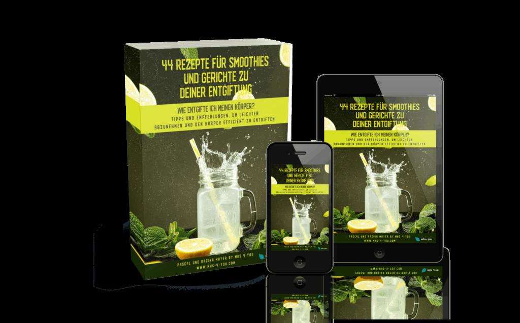 44 Rezepte msh 4 you - 3D Cover komplett