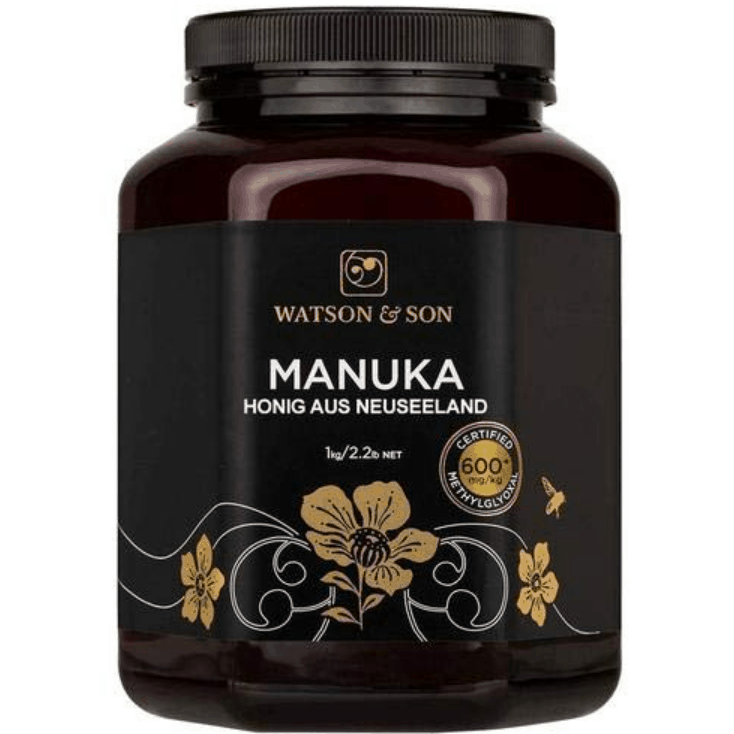 Watson & Son Manuka Honig MGO 600+ 1kg Premium Qualität aus Neuseeland