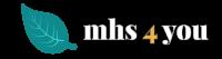 mhs 4 you logo - Schrift stärker - 1